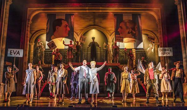 REVIEW: Evita @Theatre Royal