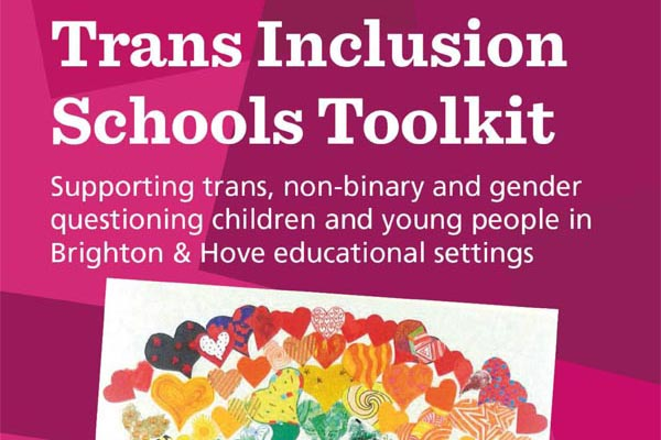 Trans guidance for schools tackles stereotyping and keeping children safe