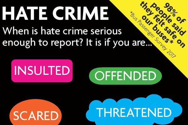 Bus company launch new anti-hate crime campaign