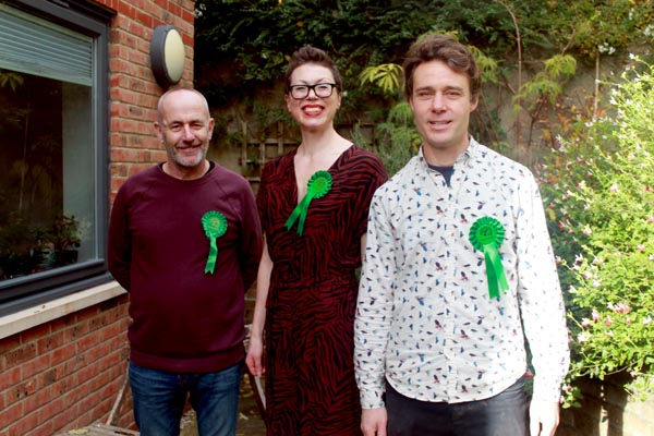 Greens select candidates for Withdean ward