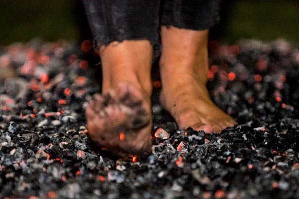 Dare yourself to take on the Martlets Firewalk