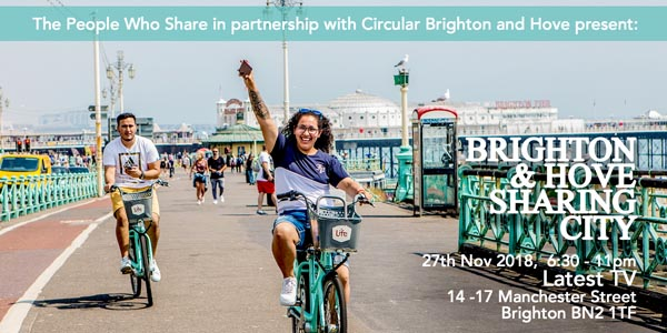 Brighton and Hove to become a 'Sharing City'
