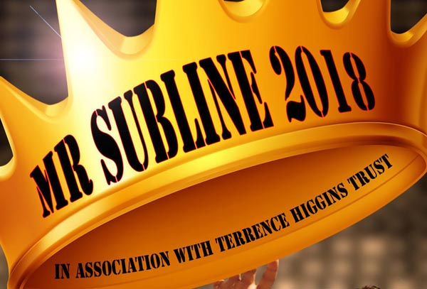 Want to be Mr Subline 2018?