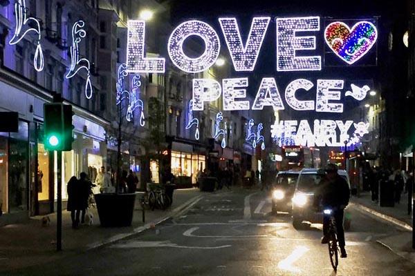 Christmas comes to Brighton today ACTUALLY!