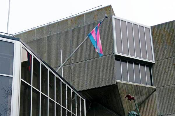 Council fly trans flag to mark Transgender Day of Remembrance