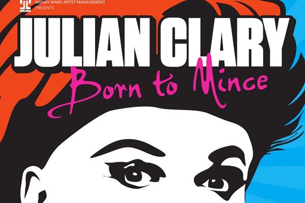 PREVIEW: Clary is 'Born to Mince' @Brighton Dome
