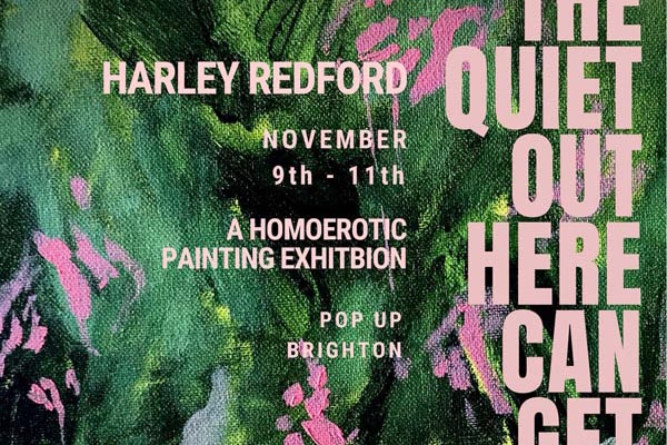 PREVIEW: A homoerotic painting exhibition by Harley Redford
