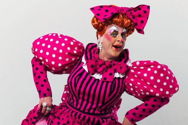Local Dame stars in Brighton's traditional family panto this Christmas