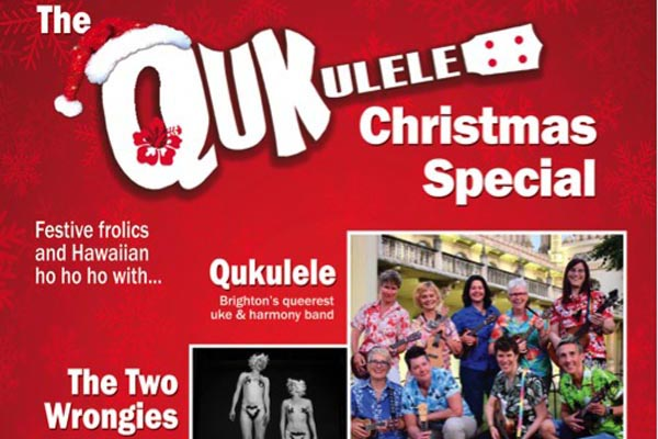 PREVIEW: Qukulele Christmas special @Latest Music Bar