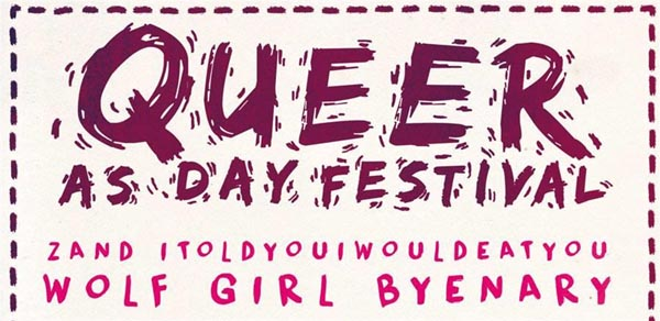 PREVIEW: Queer As Day festival comes to the Green Door Store in Brighton today