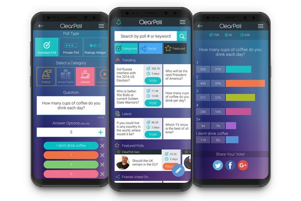 ClearPoll, Blockchain and Cryptocurrency is fun!
