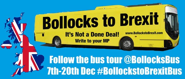 Brexit Bus comes to Brighton this Friday