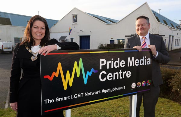 UK's first LGBT+ business and media centre launches in Gateshead