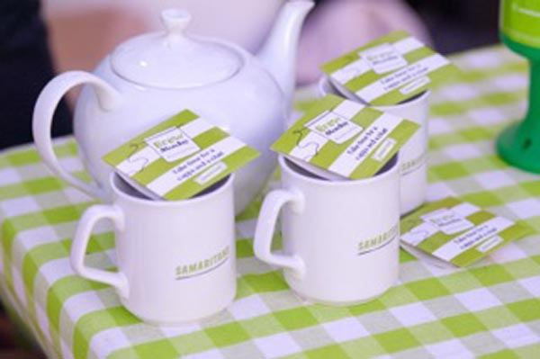 Share a cup of tea with Samaritans on Brew Monday