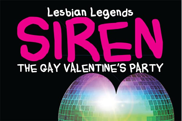 PREVIEW: The Gay Valentine's Party with rock legends Siren and Greymatter
