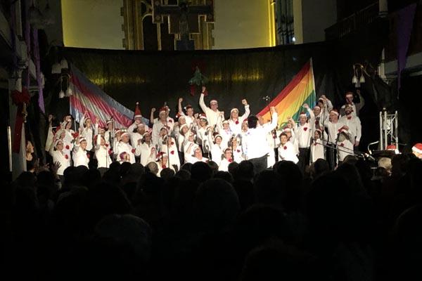 REVIEW: Rainbow Chorus 'Les Mistletoe' at St George's