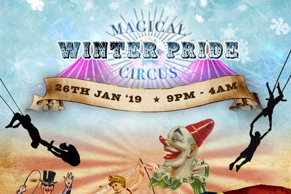 Winter Pride returns with Magical Circus theme