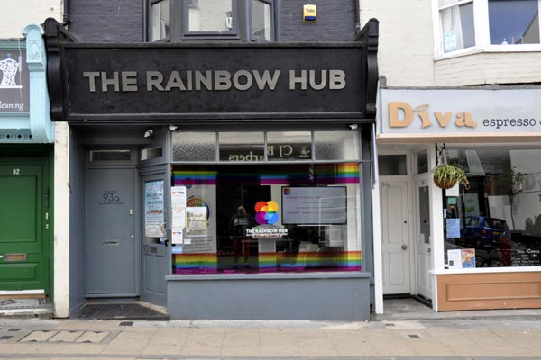 Rainbow Hub all fired up and ready to go!