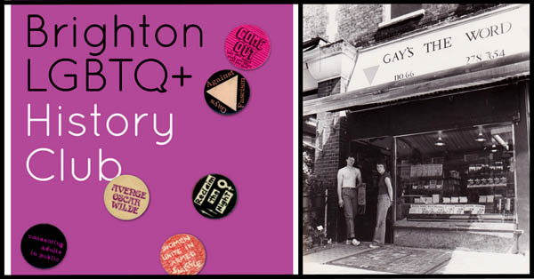 Brighton LGBTQ+ History Club welcome filmmaker Janet Jones