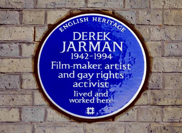 Blue Plaque for Derek Jarman unveiled in London