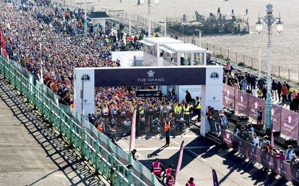 Thousands take part in The Grand Brighton Half Marathon 2019