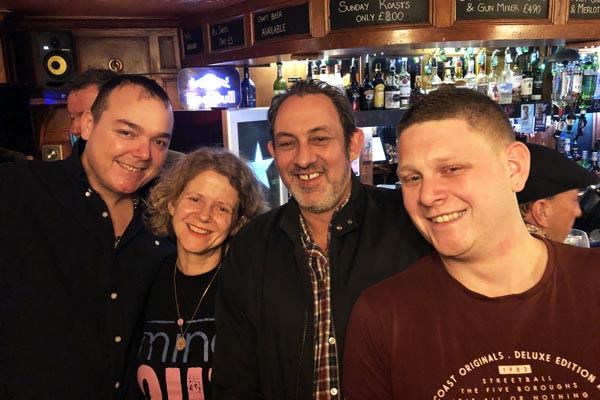 Marine Tavern raise £5,519.18 for MindOut in 2018