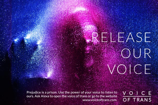 #VoiceOfTrans – 'Alexa, open the voice of trans'