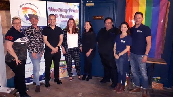 Worthing Pride 2019 has lift off!