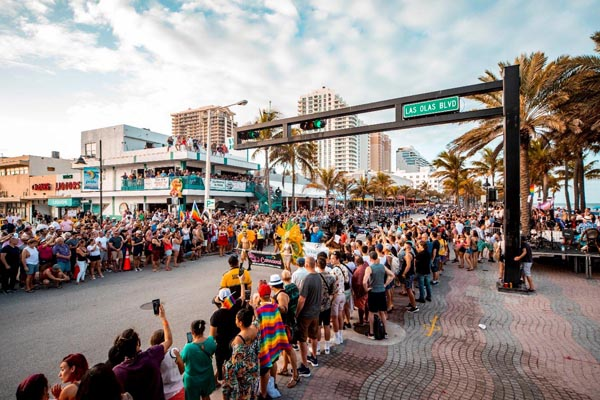 Record crowds attend Pride Fort Lauderdale