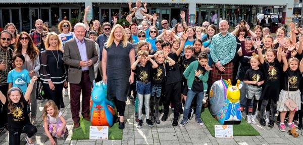 'Junior Snailway' raises £44,000 for Martlets Hospice