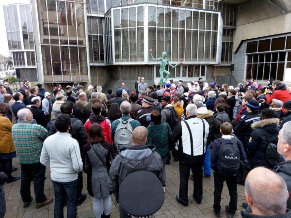 #WeStandTogether – hundreds attend One Voice Vigil