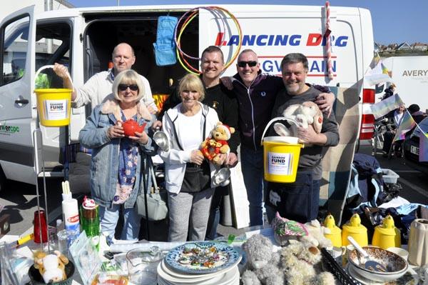 Bear-Patrol raise £399.32 for The Rainbow Fund.