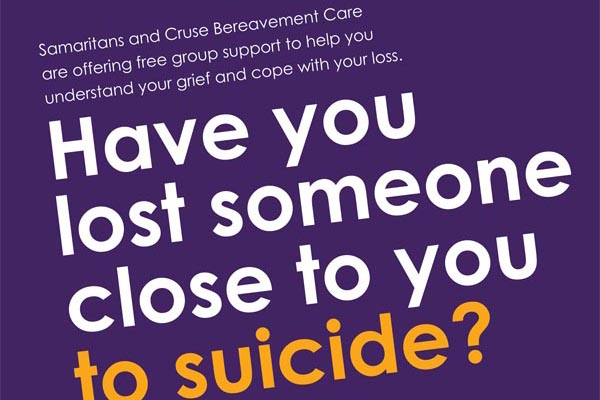 'Facing the Future' with the help of Samaritans and Cruse Bereavement Care