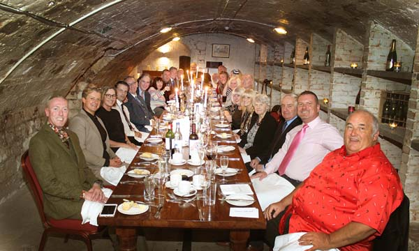 Mayor attends Bear-Patrol Suited Sunday Lunch