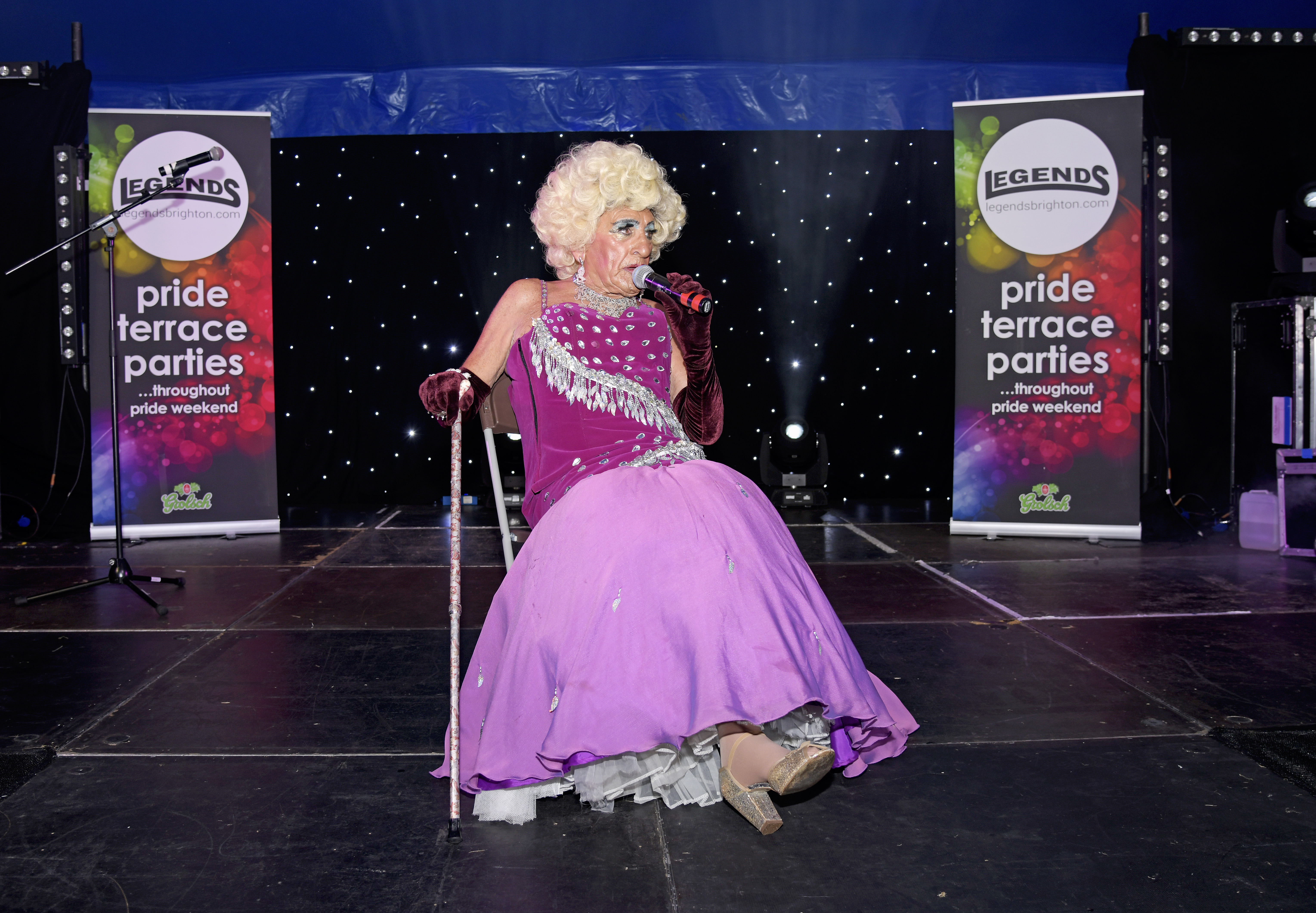 Legends to sponsor Brighton Pride Cabaret Big Top for another year