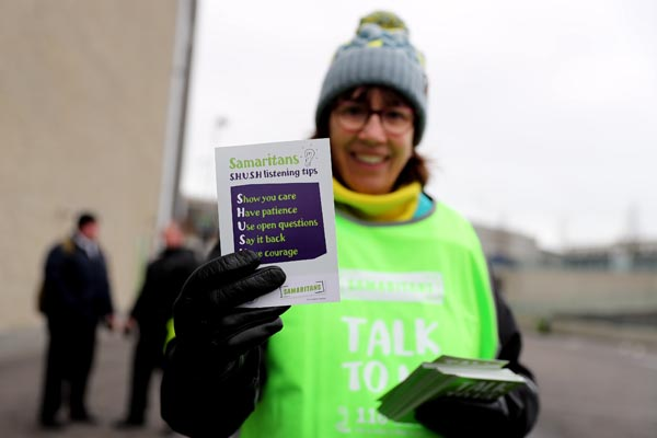 Samaritans raise money from 'House On Cold Hill' donations