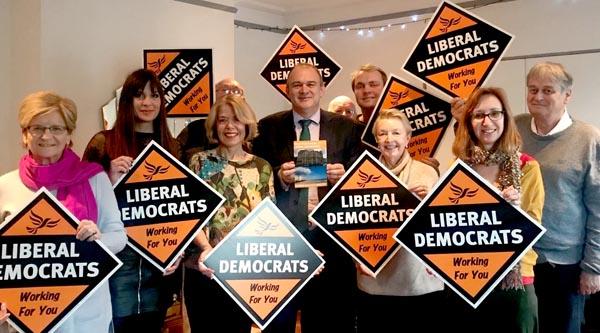 Former Lib Dem Environment Secretary visits Brighton & Hove