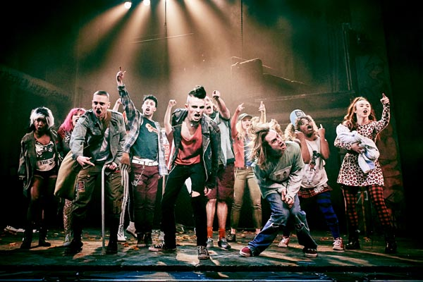 MUSICAL THEATRE REVIEW: Green Day's American Idiot @The Theatre Royal