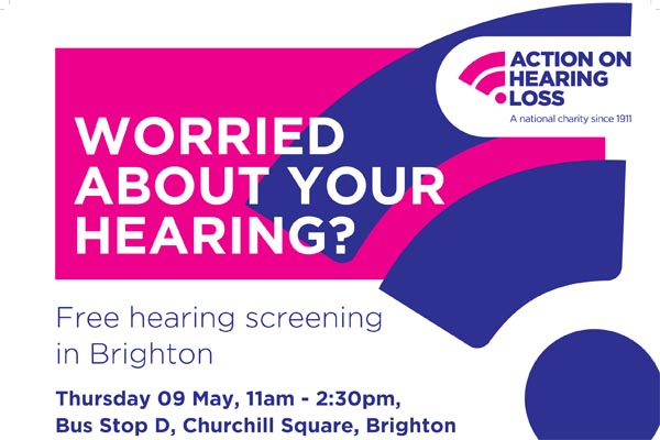 Worried about your hearing, or someone else's?