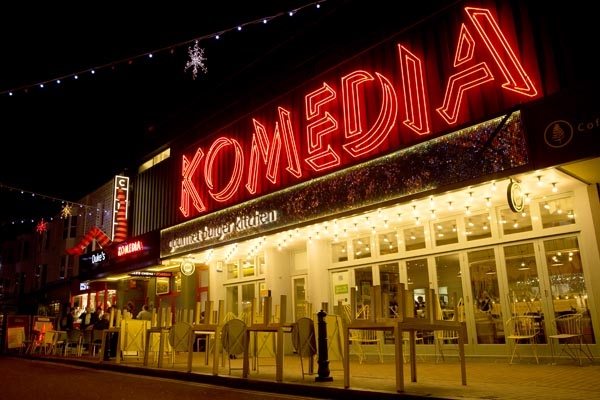 Let the Good Times Roll – 25 Years of Komedia: 1994 – 2019