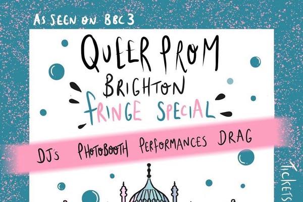PREVIEW Brighton Fringe: Queer Prom @Komedia, Brighton