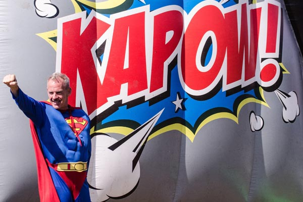 KAPOW! is back for 2019 supported by Martlets Ambassador Norman Cook