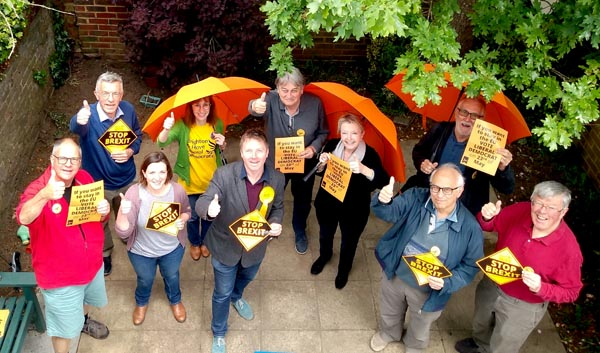 Lib Dems and Greens perform very well in European elections