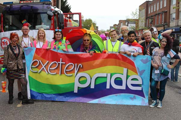 Lord Mayor to lead 11th Exeter Pride march