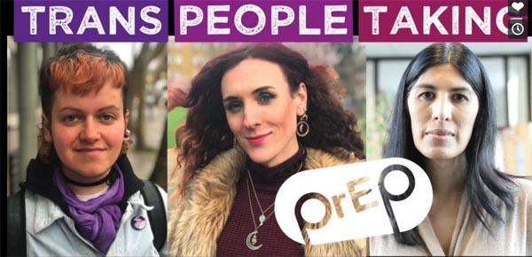 Trans people taking PrEP