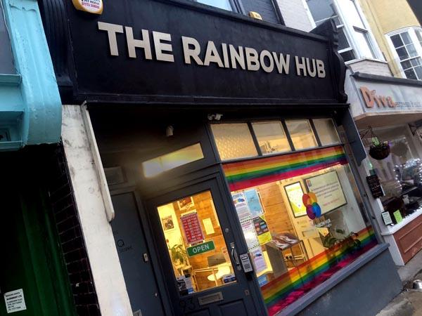 Volunteer recruitment day at Rainbow Hub