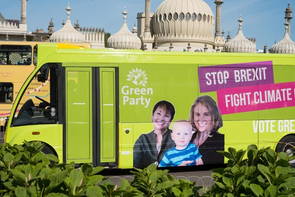 Latest polling suggest Greens could send two South East MEPs to Europe