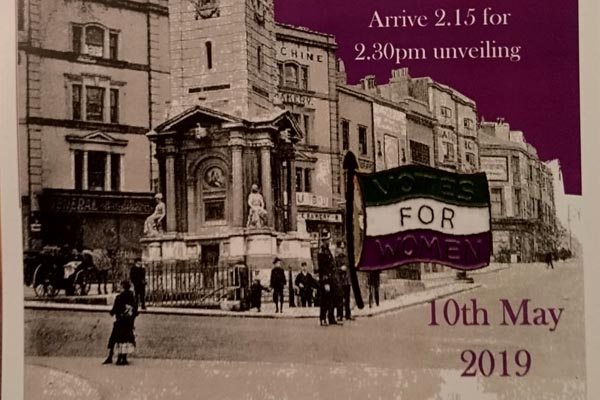 Greens to honour city's suffragette history
