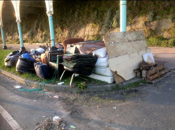 Council ropes in specialists to remove Madeira Terrace rubbish