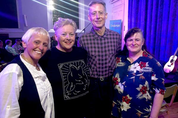 Local musicians help raise funds for Peter Tatchell Foundation